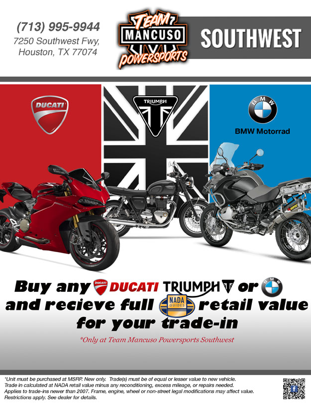 specials | team mancuso powersports southwest | houston texas